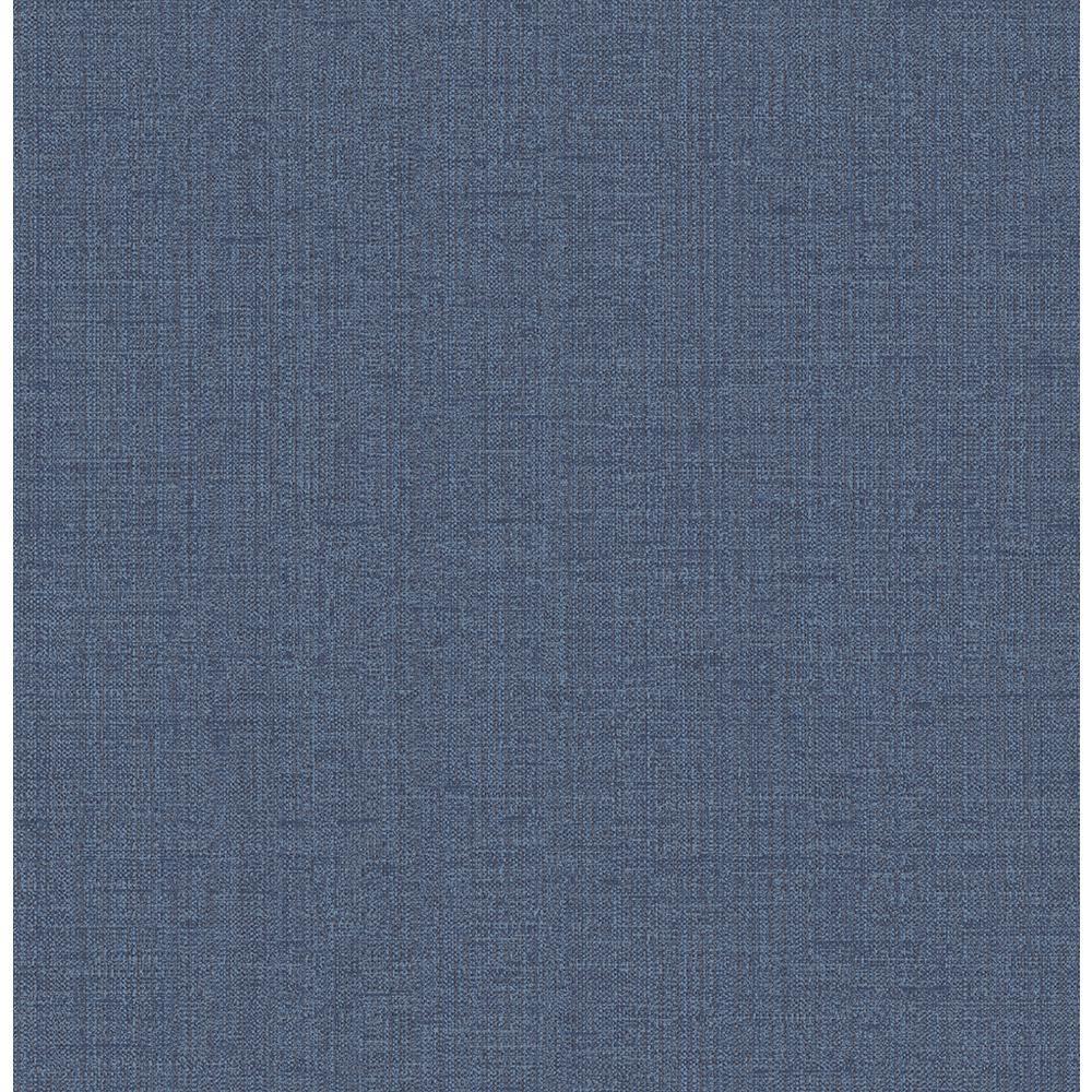 Chelsea Blue Weave Wallpaper Sample
