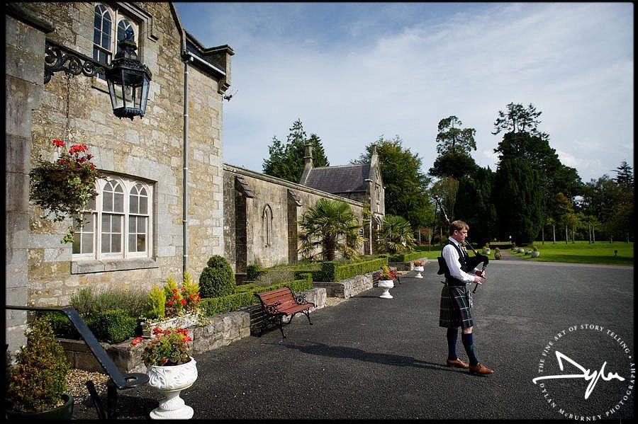 Wedding At Parkanaur Manor Photographs By Dylan Mcburney
