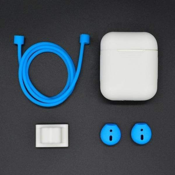 5 In 1, 10 colors Case for Earpods Bluetooth Wireless