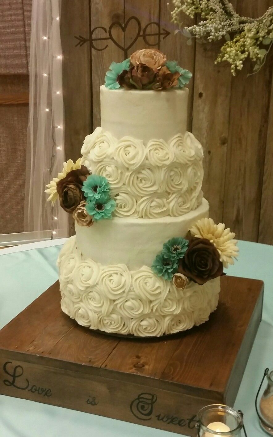 Cox wedding cake 10-15-16   My personal cakes   Pinterest   Wedding cake