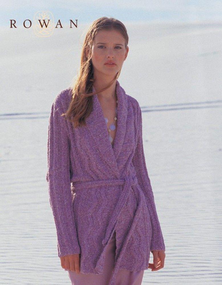 Sea Breeze Cardigan In Rowan Summer Tweed Free Know Know Knitting