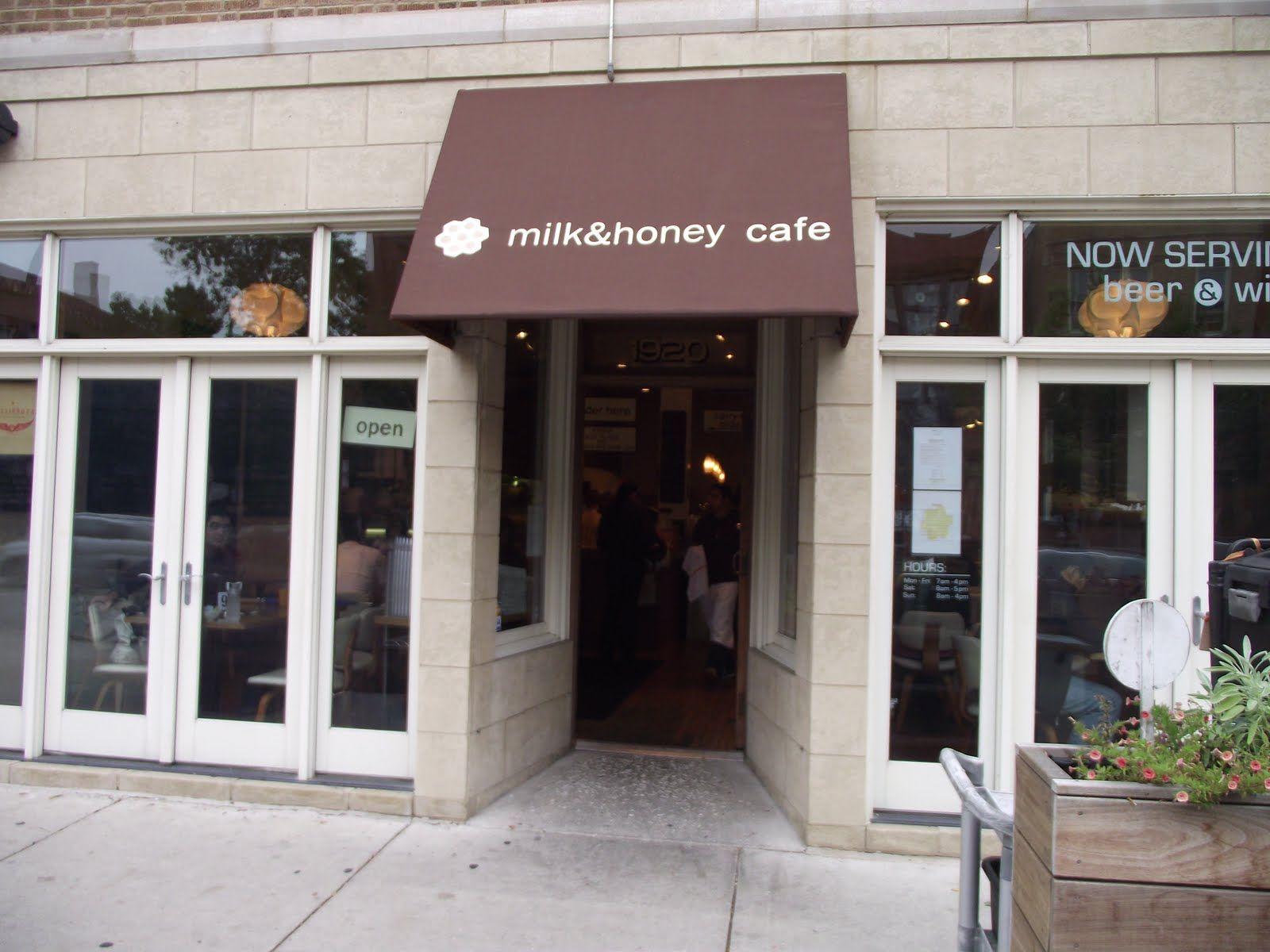 Milk & Honey Cafe   Honey cafe, Cafe, Milk and honey
