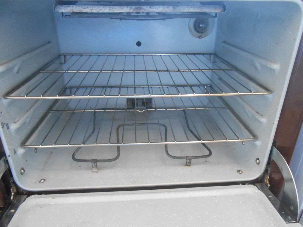 40 Inch Oven Range Part - 42: Appliance City - GE 40 INCH VINTAGE CHOCOLATE BROWN ELECTRIC RANGE DOUBLE  OVEN COIL BURNERS 2