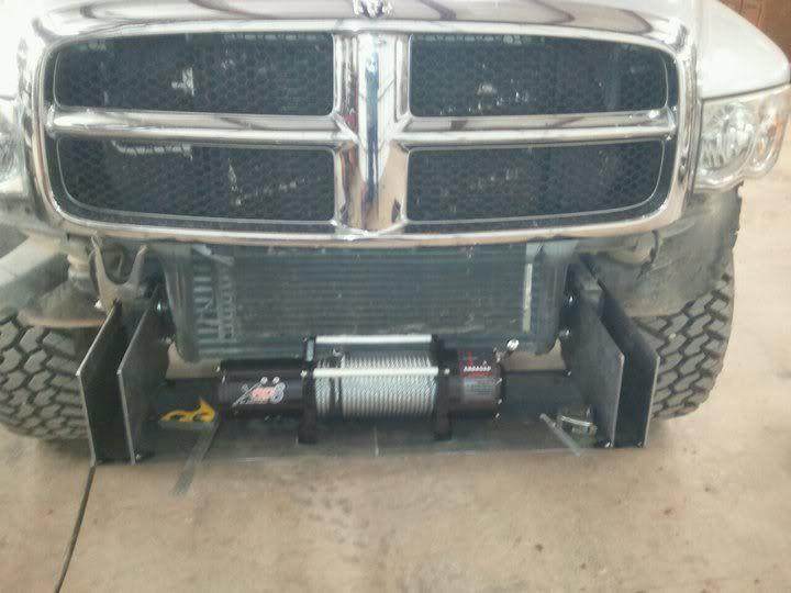Front bumper build dodge cummins diesel forum truck