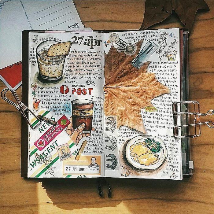 Kits de álbum de recortes odiosos Erin Condren #scrapbookmalaysia #ScrapbookingLayoutsHo …