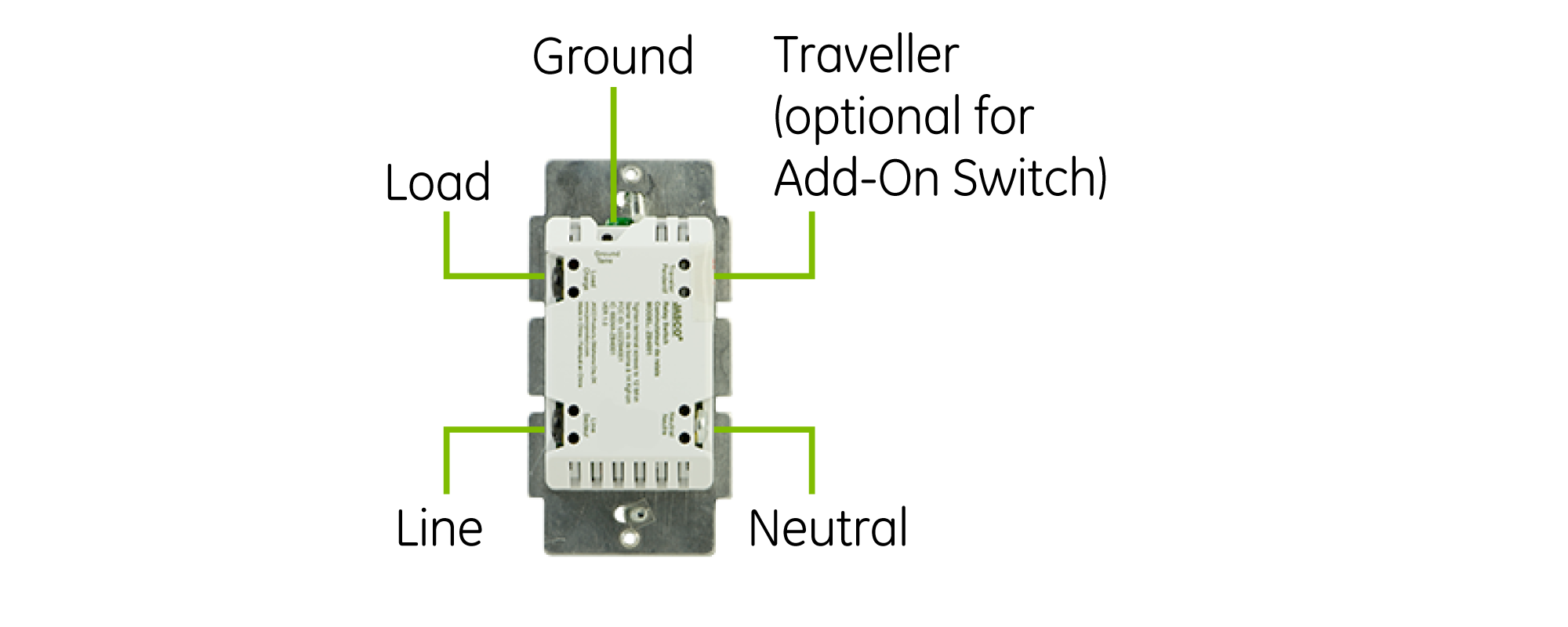 GE Z-Wave Plus In-Wall Smart Dimmer | For the Home | Diagram ... on
