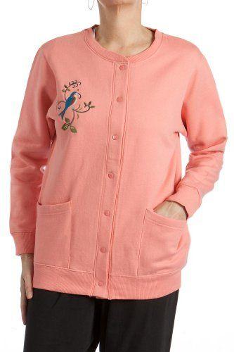 Women's fleece cardigan jacket