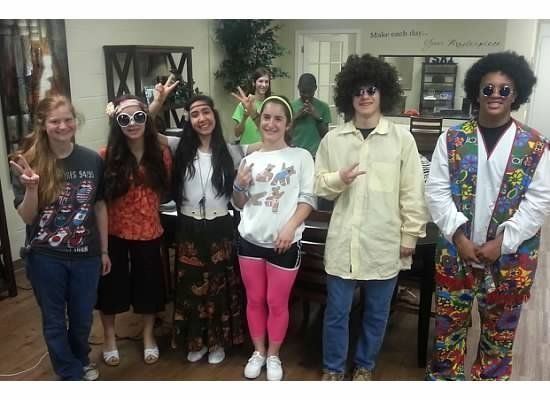 We dressed up for decades day! #decadesdayspiritweek We dressed up for decades day! #decadedayoutfits We dressed up for decades day! #decadesdayspiritweek We dressed up for decades day! #decadedayoutfits