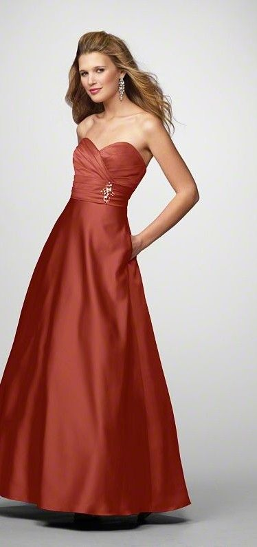 bridesmaid dresses in burnt orange for my fall wedding