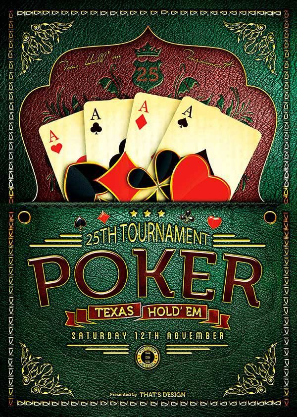 Poker Casino Flyer Template  Flyer Templates    Flyer
