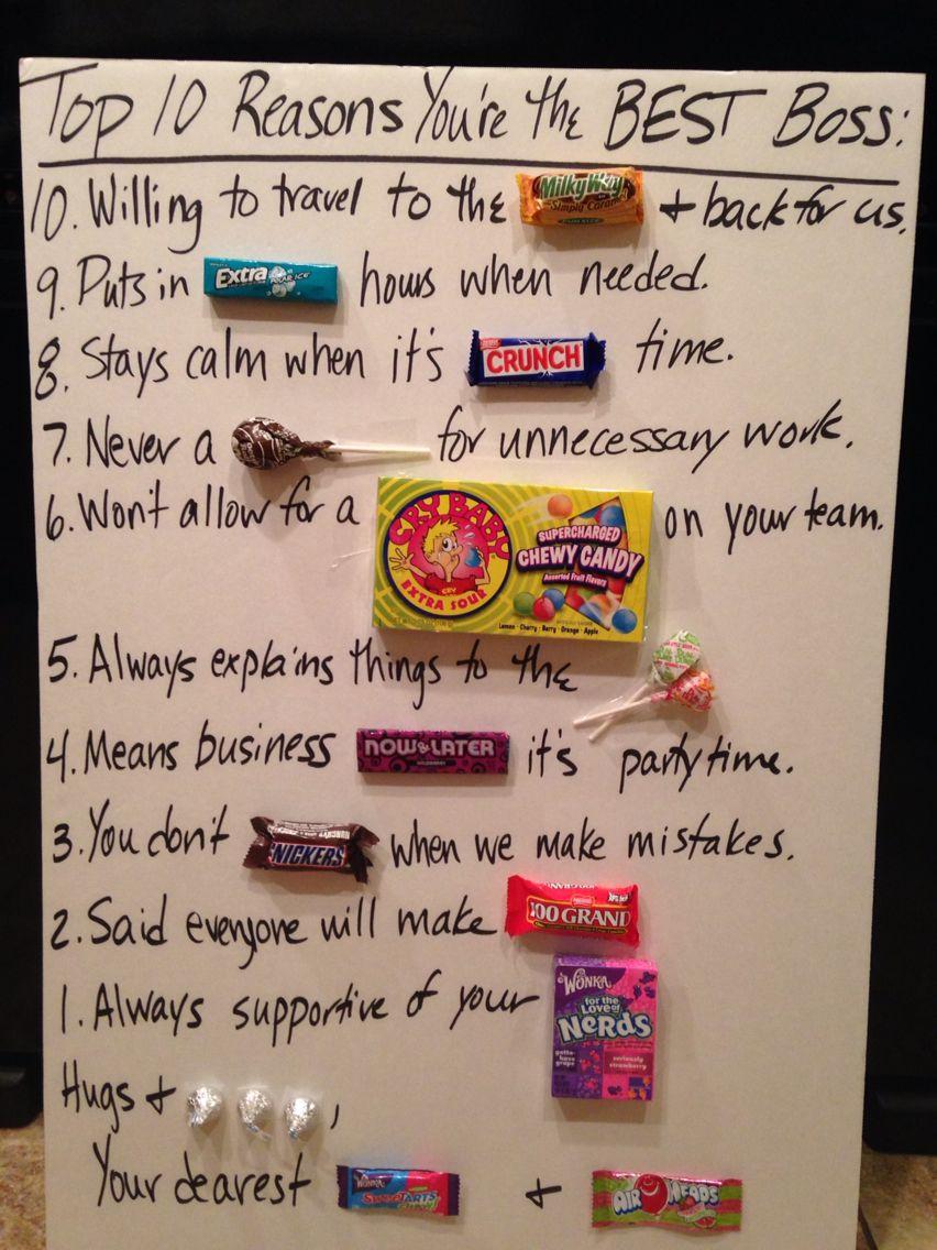 10 Reasons for BEST Boss Gifts for boss, Best boss, Boss