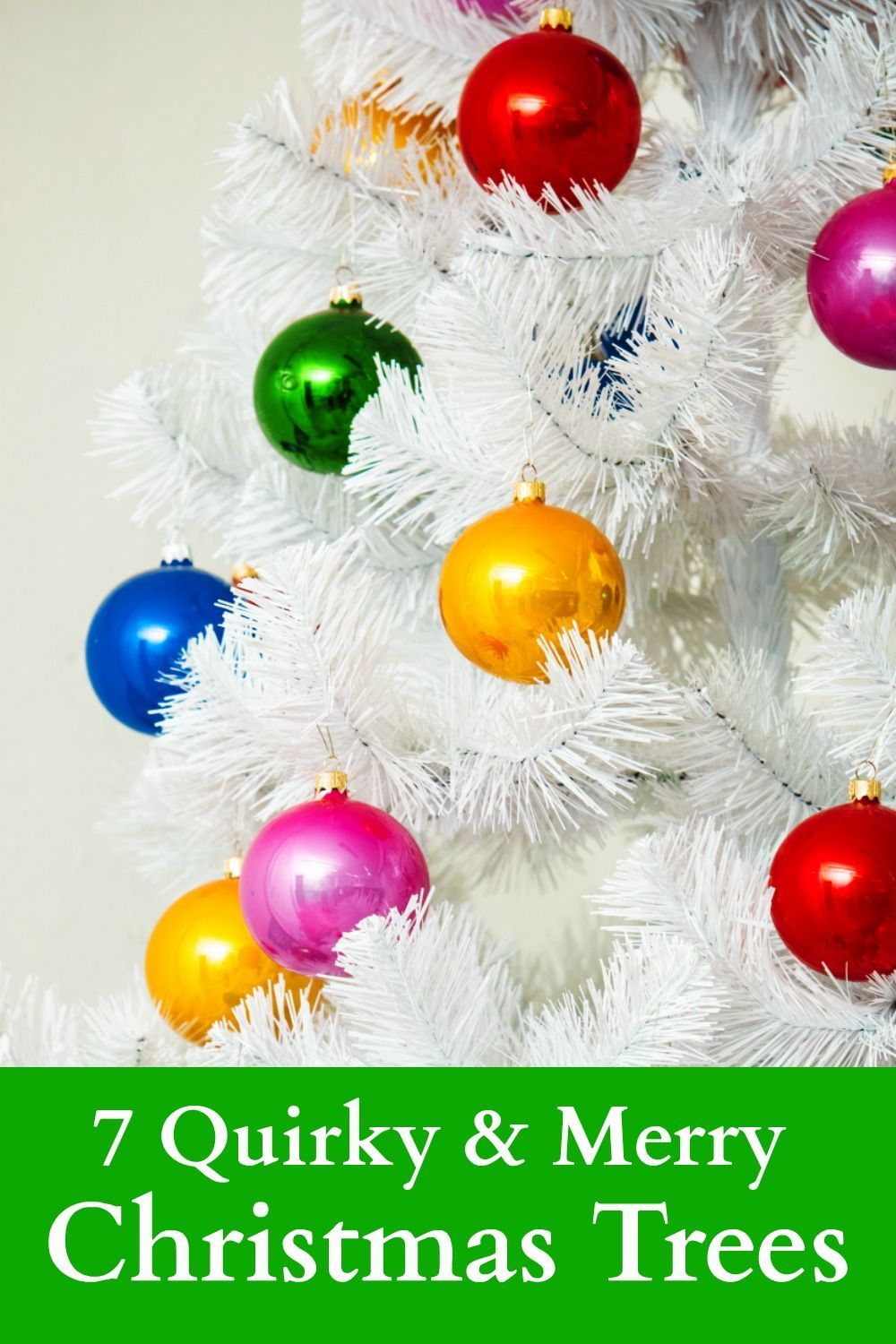 7 Unique Christmas Tree Decorating Ideas For A Funky Merry Christmas Christmas Tree Decorations Tree Decorations Unique Christmas Trees