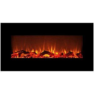 Flameshade Electric Fireplace Heater Wall Fireplace Freestanding Or Wall Mounted With Remote
