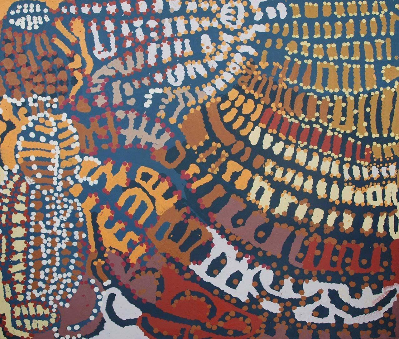 Yarla Jukurrpa – Bush Yam Dreaming by Lorna Napurrula Fencer