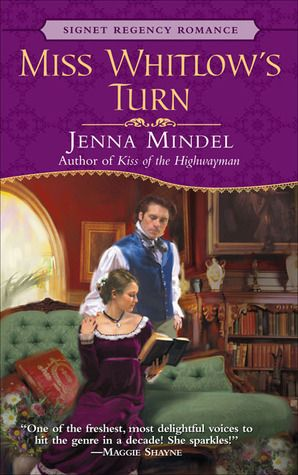 Jenna Mindel - Miss Whitlow's Turn / #awordfromJoJo #HistoricalRomance #JennaMindel