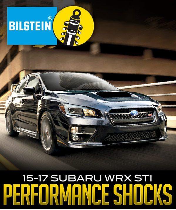 Bilstein B6 Performance Shocks For 2017 Subaru Wrx Sti