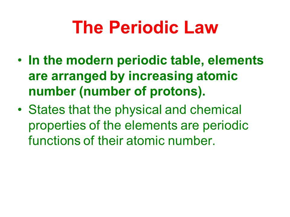 Image result for modern periodic law videos pinterest image result for modern periodic law urtaz