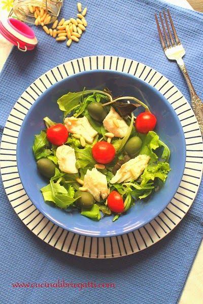 рецепт салата трески   Рецепты салатов, Треска и Салаты