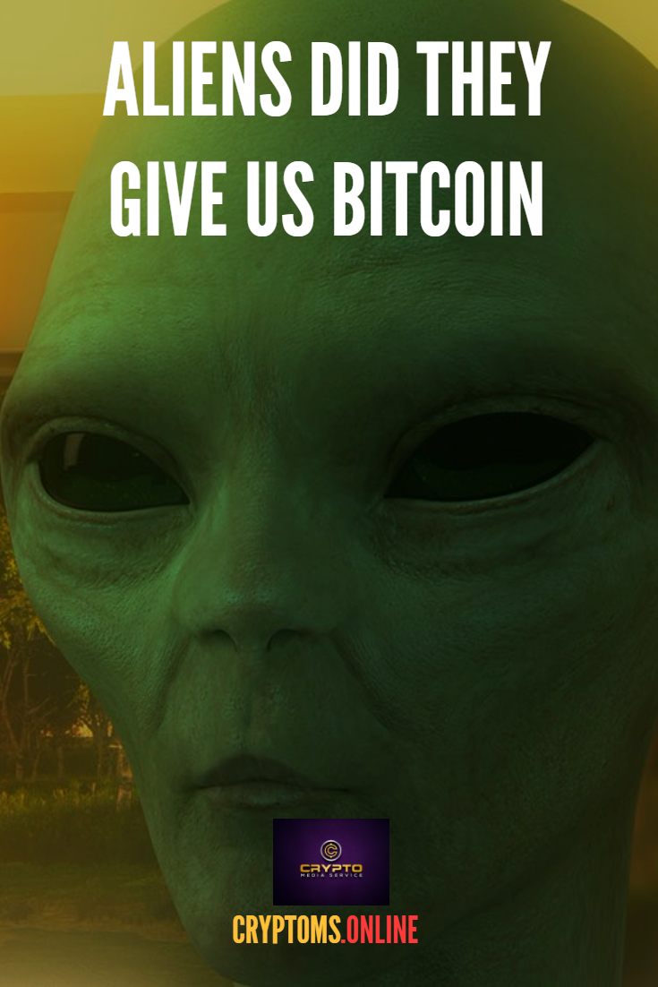 Are aliens behind bitcoin at (med billeder)