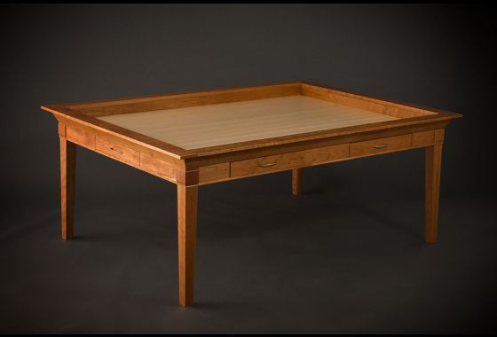 Emissary Table By Geek Chiq Table Games Table Custom Dining Tables