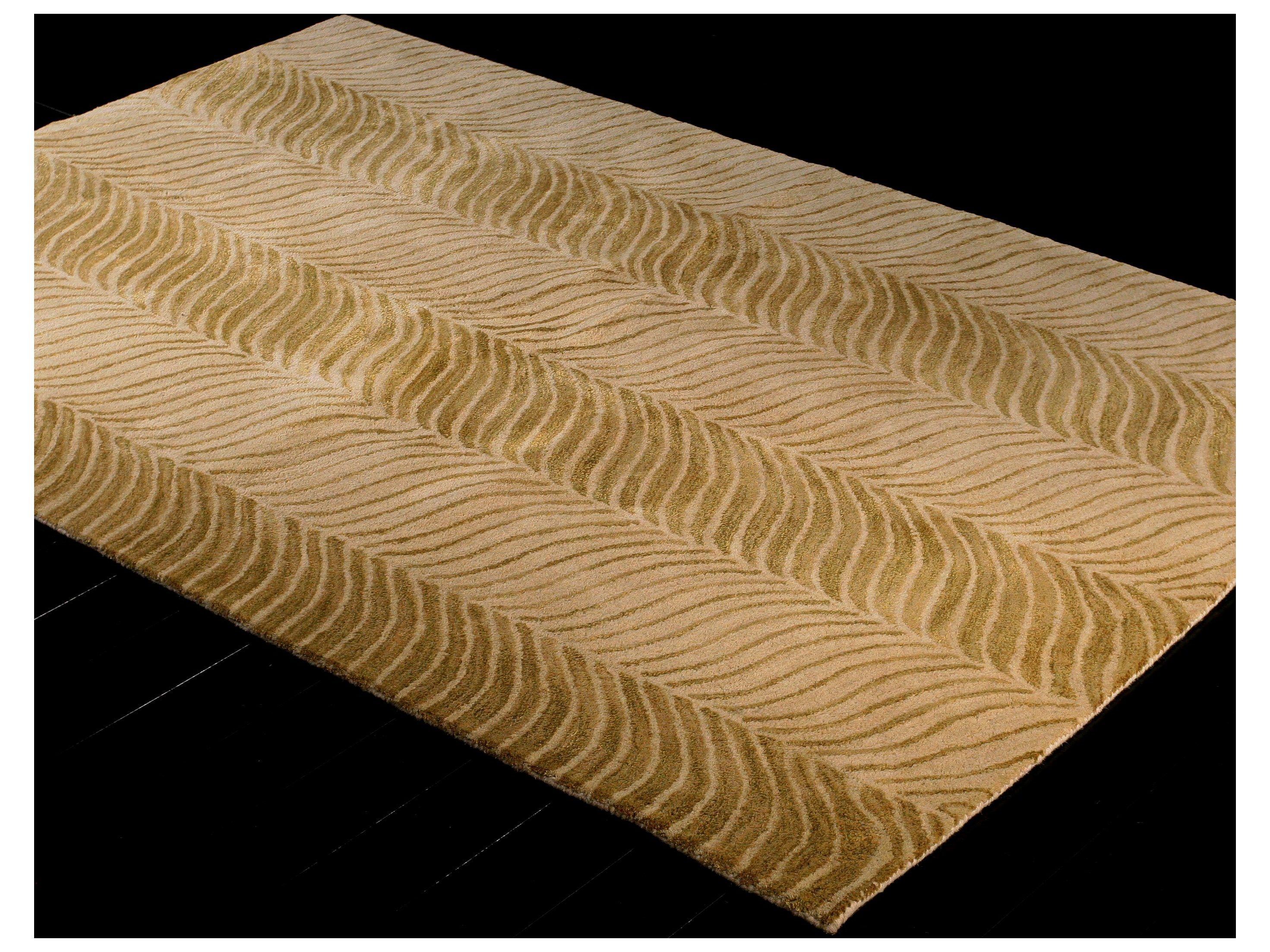 Bashian Rugs Greenwich Rectangular Gold Area Rug Carpets