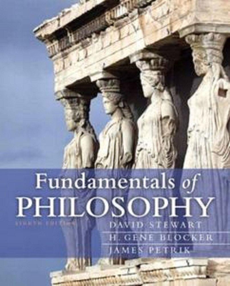 NEW Fundamentals of Philosophy 8th Edition MyThinkingLab Series Paperback 2012
