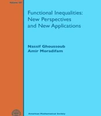 Functional Inequalities Pdf New Perspective Mathematics