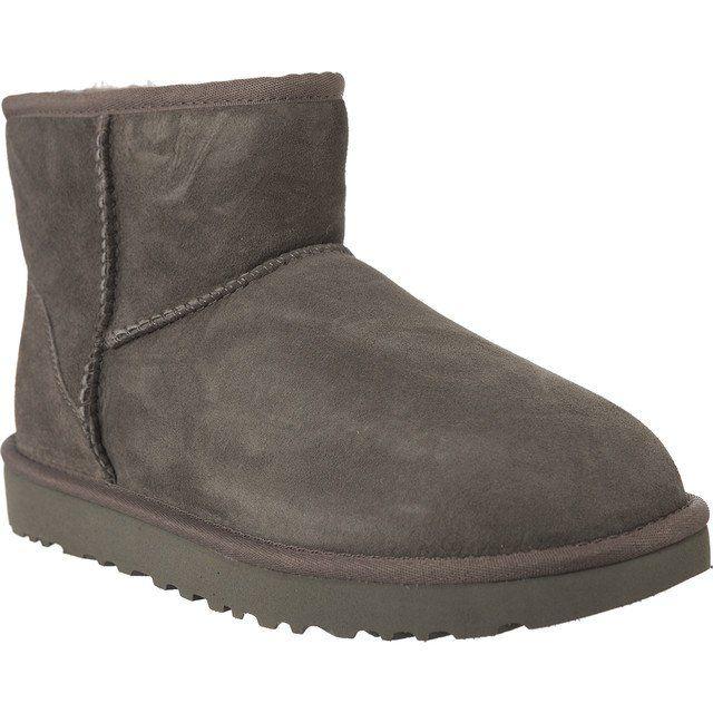 Sniegowce Damskie Ugg Ugg Szare Classic Mini Ii Grey Uggs Ugg Boots Boots