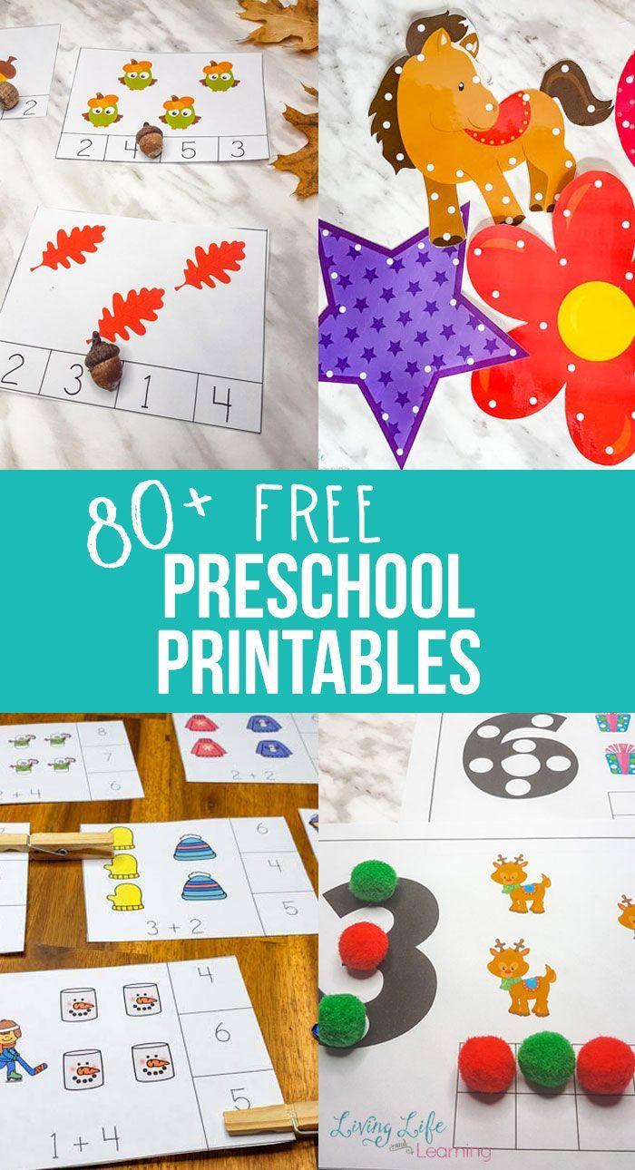 Photo of Free Preschool Printables