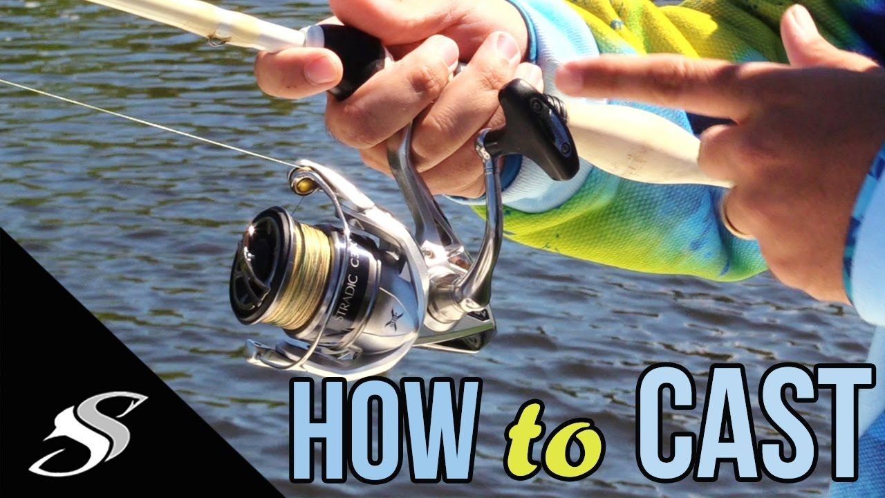 How to Cast a Spinning Reel/Rod For Beginners Fishing