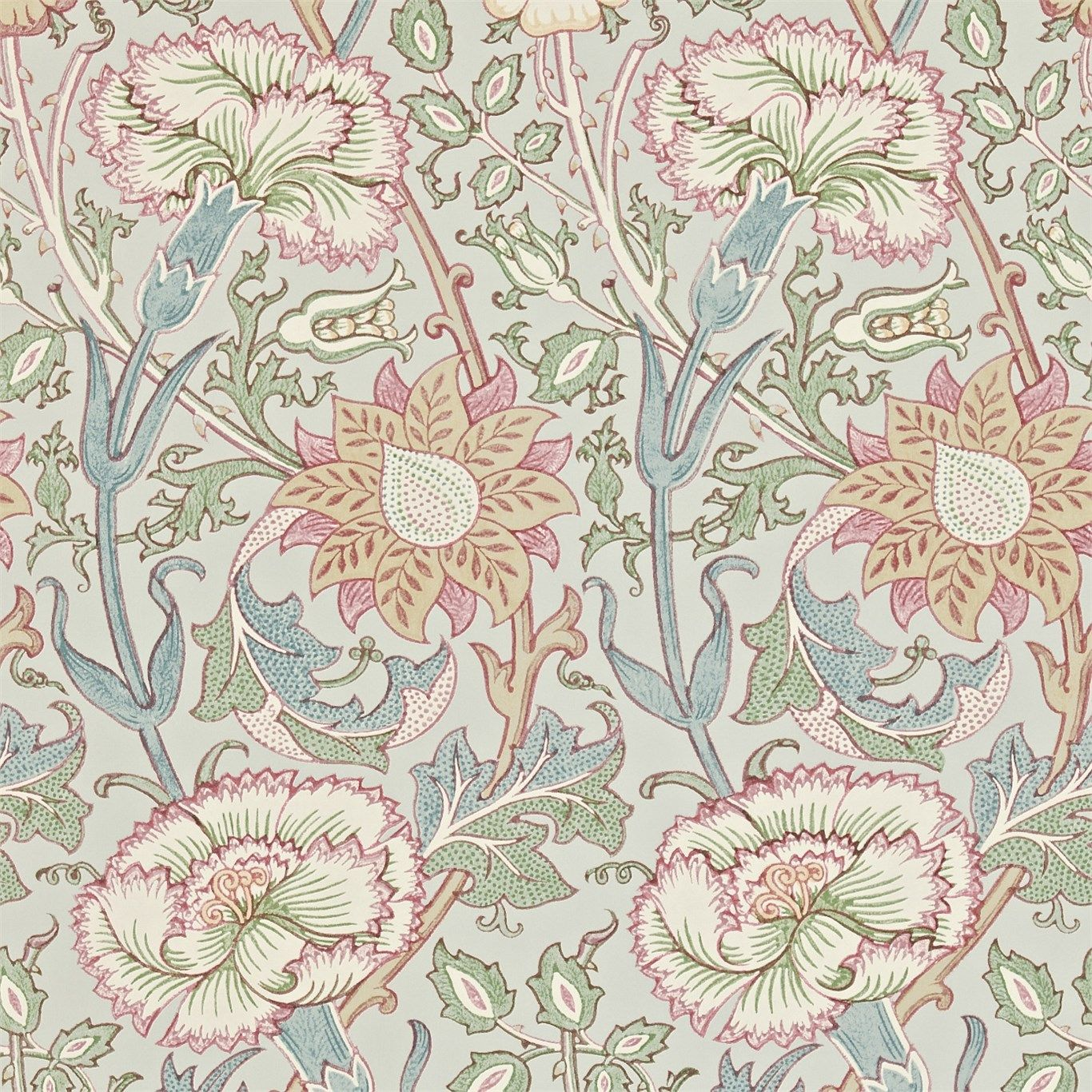 The Original Morris Co Arts And Crafts Fabrics And Wallpaper Designs By William Morris Company Products British Uk Fabrics Uilyam Morris Oboi Ampir