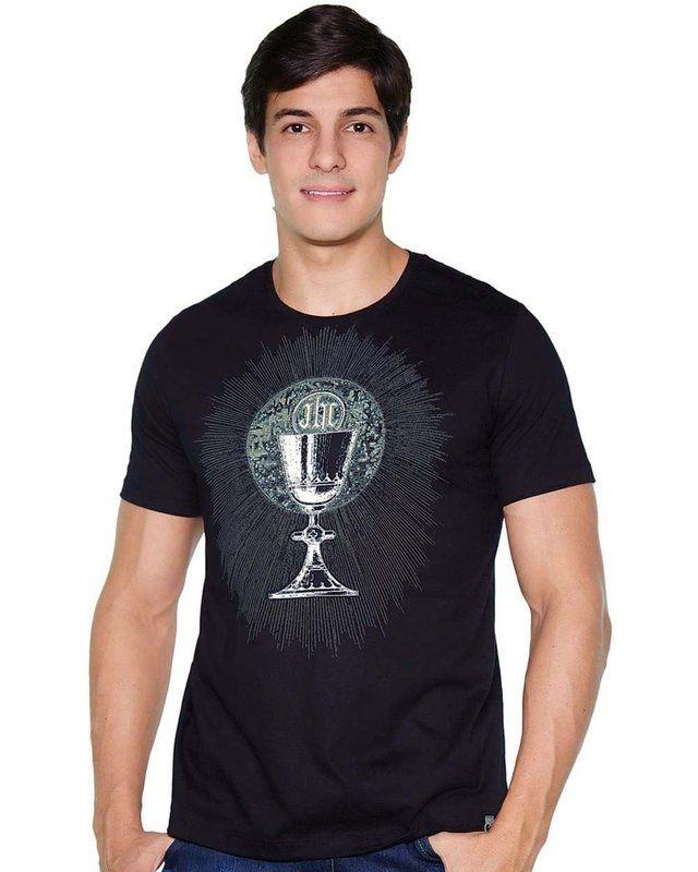 Camiseta Cálice - eCristo - Camisetas religiosas católicas ... c2cbd1a9471
