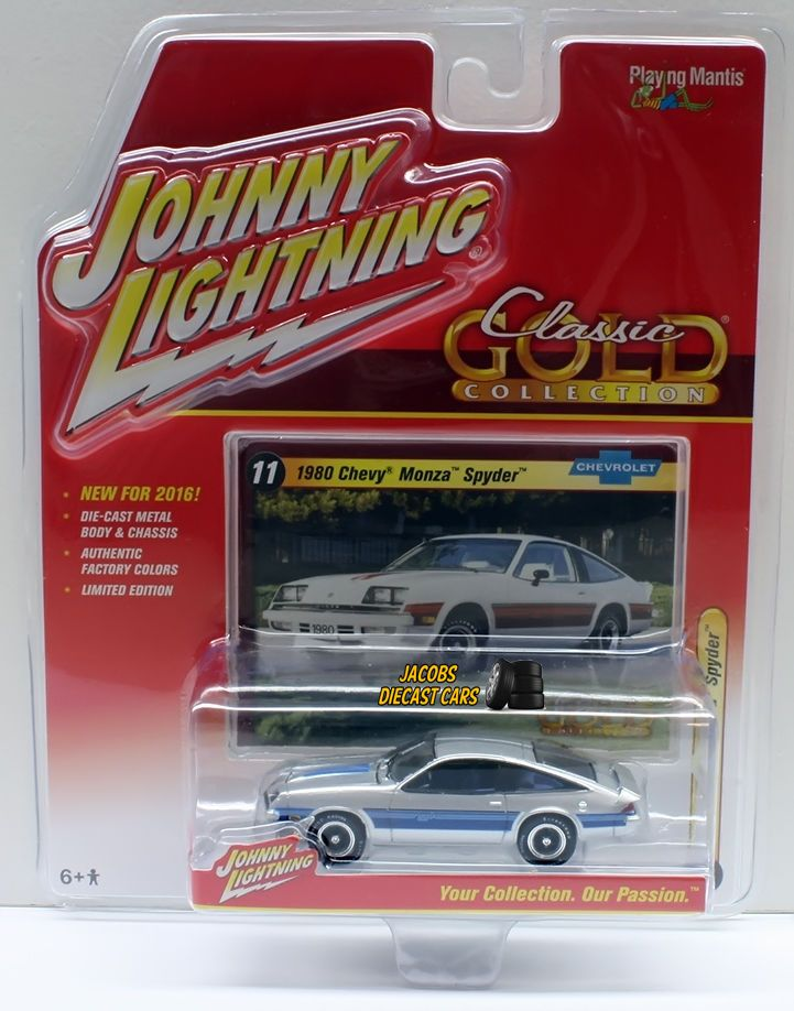 GOLD SERIES MUSCLE CARS 1973 PONTIAC GTO JOHNNY LIGHTNING DIECAST