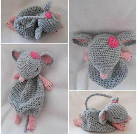 Schmusetuch Theo #crochetelements