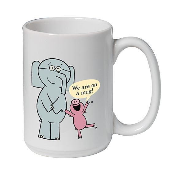 Hooray! #Mo Willems Elephant \ Piggie Mug! Mo Willems Pinterest - new mo willems coloring pages elephant and piggie