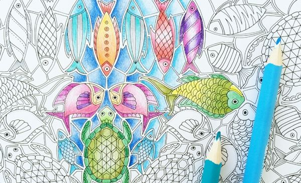 Tips From Johanna Basford On Coloring Intricate Line Art You Don