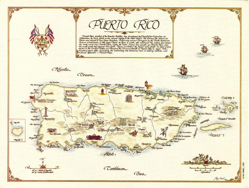 Puerto Rico Maps Puerto Rico Map Puerto Rico Map