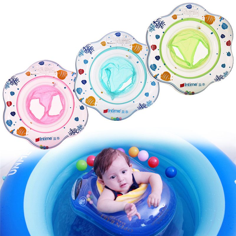 New Safe Inflatable Circle New Born Infant Adjustable Swimming Neck ...