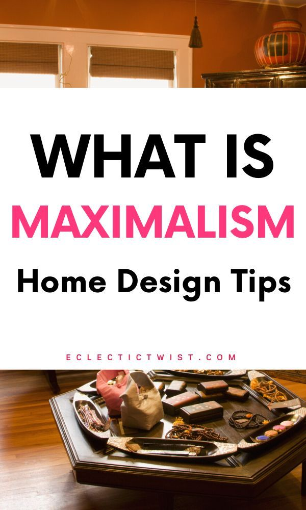 What is maximalism when it comes to home design? #maximalism #maximalistdecor #maximalist #homedesignideas #hometrends #designtrends