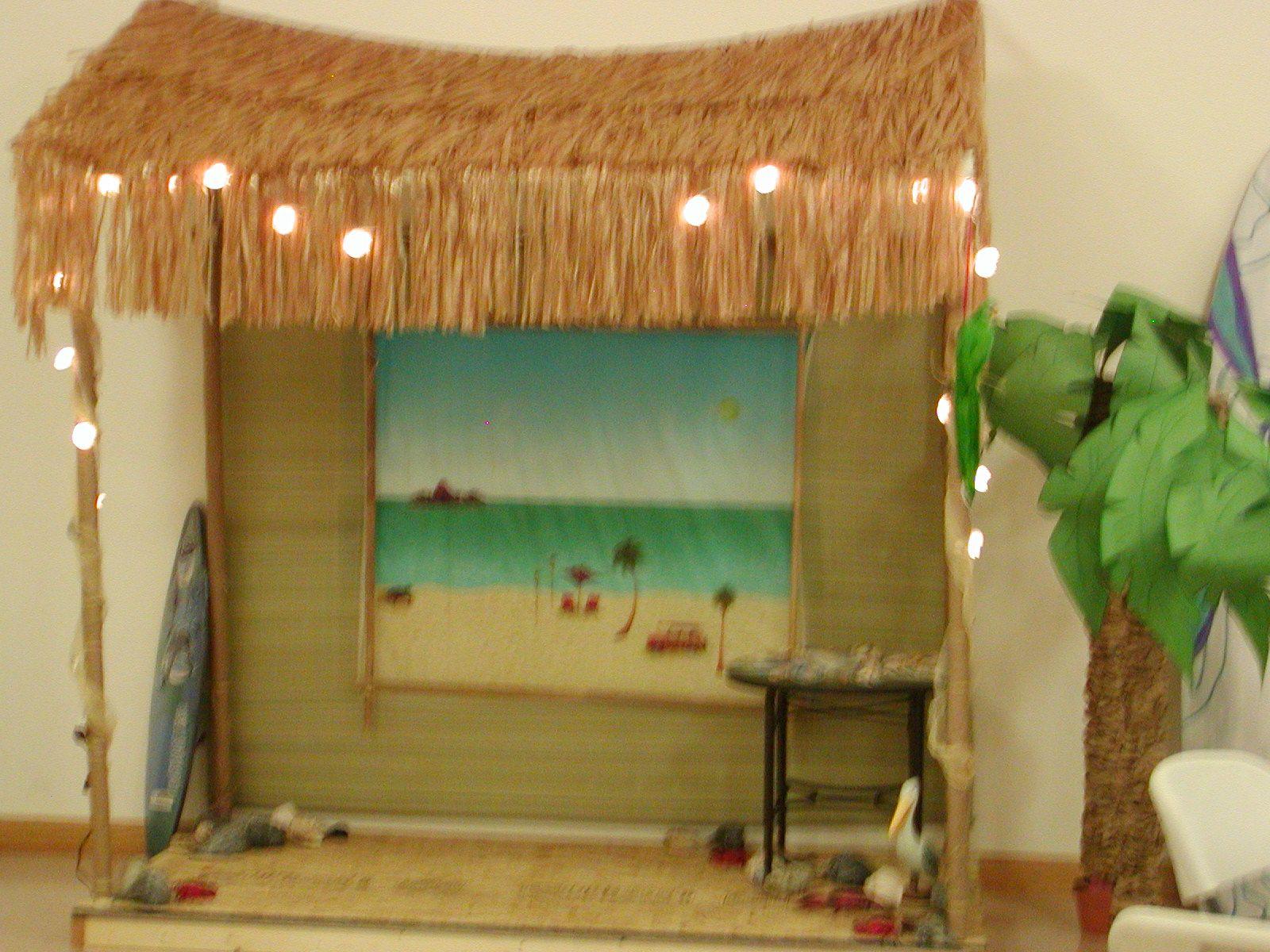 Beach theme vbs option for surf shack vbs use the for Beach hut decoration ideas
