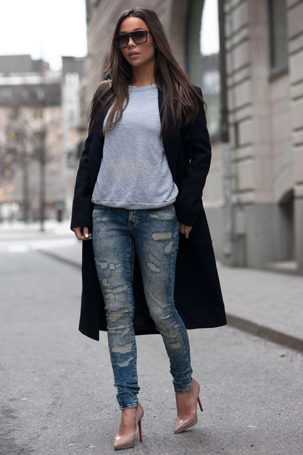 d66596223d952 Johanna Olsson swedish fashionbloger | coats | Streetwear fashion ...