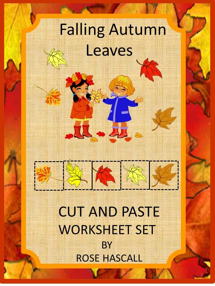 Fall Leaves Math Literacy Kindergarten Math Special Education Math Fine Motor #autumnleavesfalling