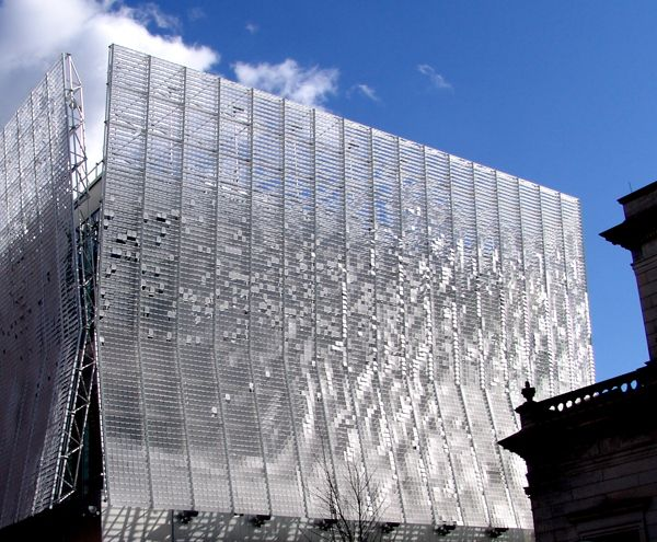 Articulated Cloud By Ned Kahn 2004 Facade Of Children S