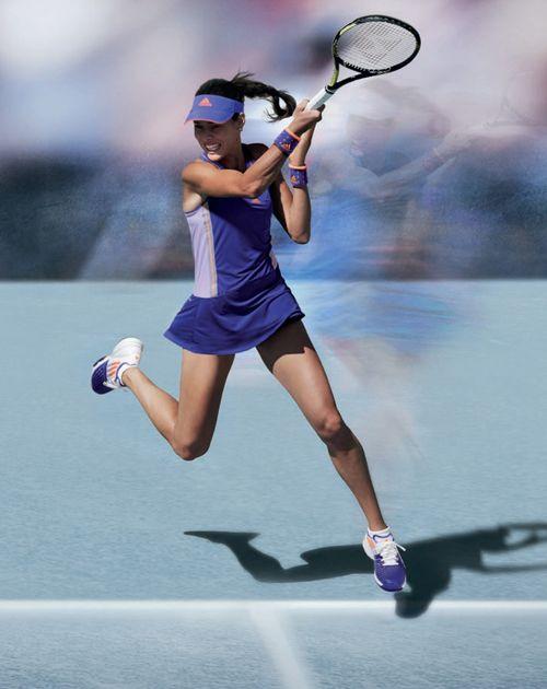Ana Ivanovic Adizero At Australian Open Ana Ivanovic Tennis Players Female Ana Ivanovic Tennis