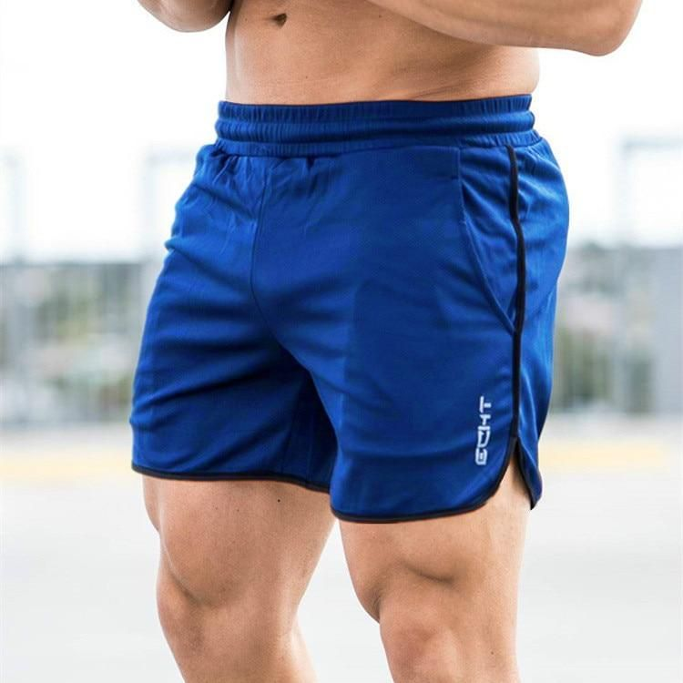 Mens Quick-drying Loose Shorts Pants Mesh Casual Breathable Gym Short Trousers