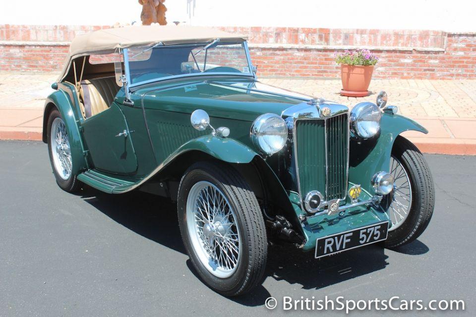 1948 MG TC / British Sports Cars / San Luis Obispo / CA / 93401 ...
