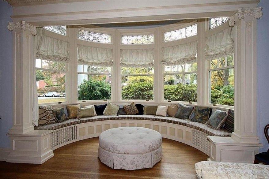 Create Cozy Bay Window Seat In 2020 Bay Window Design Bay Window Seat Window Benches