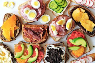 Perfect Pairs-classic two ingredient sandwiches.