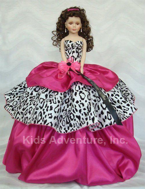 muñeca de quinceañera con impresión de leopardo-Muñecas-Identificación del producto:131024650-spanish.alibaba.com