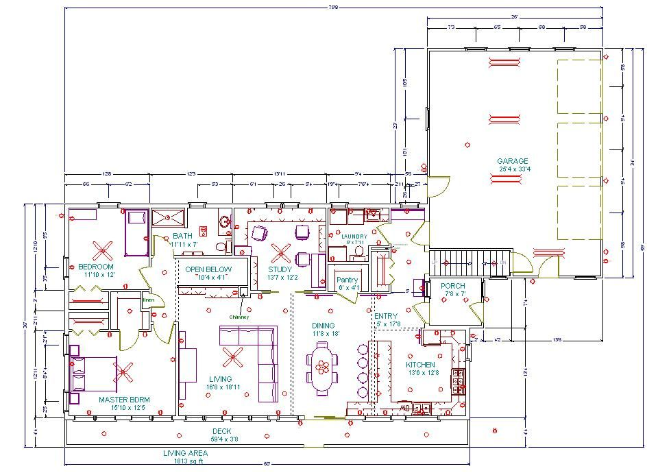 Building an Eco Home - Floor Plans - part 5 Common sense, House - new blueprint plan company